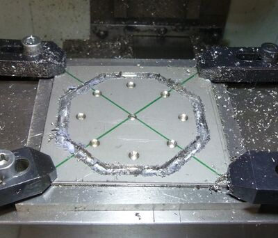 Machining the Stainless plates